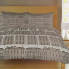 Catherine Lansfield Cotton Rich Buildings Multi Duvet Quilt Cover Bedding Set