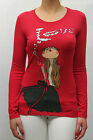 MAGLIA MOSCHINO DONNA MESH SWEATER КОФТА, W4B812BE1033 ROSSO AA