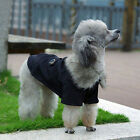 Pretty Coat Dog Clothes Costume Outwear For Pet Puppy Warm Winter Luxury Jacket
