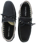 Robert Wayne Waters Men's Moc Loafer Slip On Boat Shoes Leather