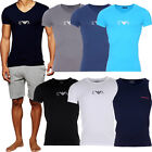 EMPORIO ARMANI MEN T-SHIRTS & VESTS STRETCH COTTON CREW & V-NECK ARMANI SLIM FIT