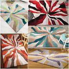 Modern & Abstract Coloured Pattern Carpet Rug – Hardwearing & Hand Tufted