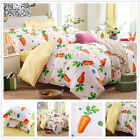 Quilt/Duvet/Doona Cover Set New Cotton SINGLE DOUBLE QUEEN KING Size Bed White