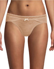 2 Maidenform® Micro Cheekinis with Lace DM0016