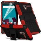 Shockproof Dual Layer Heavy Duty Case Cover & Film For Vodafone Smart Speed 6