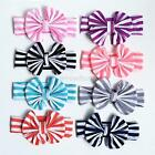 1PC Baby Kids Kids Girl Striped Hairband Cloth Bowknot Headband Hair Accessories