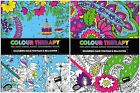 Adulto Colorante Books Colour Therapy Anti Estrés Garabatos Flores Naturaleza