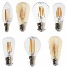 Biard 4W 6W Vintage Traditional Light Retro LED Filament Bulb Candle Warm White