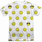 T-Shirts Sizes S-3XL New Mens Smiley World Smiley Pattern Vibrant Color T-Shirt