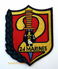 2ND MARINES REGIMENT HAT PATCH MCB Camp Lejeune 2ND MAR DIV PIN UP II MEF FMF
