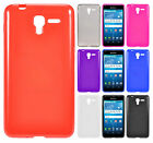 For Kyocera Hydro View TPU Frosted CANDY Gel Flexi Skin Case Cover +Screen Guard