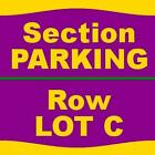 1-1 PARKING 4/3/16 Los Angeles Clippers Vs. Washington Wizards Staples Center