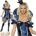 Evil Queen Vampire Ladies Halloween Fairytale Fancy Dress Costume Outfit UK 6-14