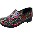 Sanita Professional Lullaby Women's Print Comfort Clogs Shoes