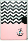 Chevron Slim Magnetic Leather Case+ Back Case Cover For Apple iPad Mini 1/2/3