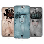 HEAD CASE DESIGNS FANCY HATS AND BANDS HARD BACK CASE FOR HTC ONE A9