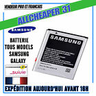 BATTERIE SAMSUNG GALAXY S8 A5 A3 S5 S4 S3 S2 Note2 3...
