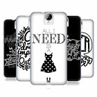 HEAD CASE DESIGNS FASHIONISTA TALK SOFT GEL CASE FOR HTC ONE E9+ PLUS