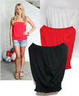 t30 CELEBRITY style Smocking waist Relaxed tube tank top