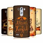 HEAD CASE DESIGNS THANKSGIVING TYPOGRAPHY HARD BACK CASE FOR LG G3