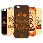 HEAD CASE DESIGNS THANKSGIVING TYPOGRAPHY BACK CASE FOR APPLE iPHONE 5 5S SE