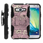 Galaxy J3 |Amp & Express Prime| Rugged Holster Clip Heavy Duty Case Images