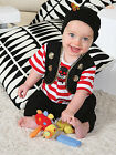 Baby Toddler Deluxe Buccaneer Pirate Costume Boy Caribbean Fancy Dress Up Outfit