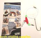 Fladen Kayak Sea Fishing Ready Made Rig  SINGLE HOOK RIGS cod ray tope conger