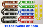 100mm x 43mm PLASTIC PACKERS SPACERS (1- 10mm) - Packs of 1000 Shims / Pails