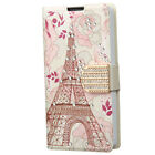 For LG Sunset L33L Premium Leather Wallet Pouch Flip Cover Accessory
