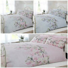 Pretty & Soft Duvet Cover Set with Cherry Blossom Floral Pattern - Bedroom