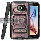 Samsung Galaxy S7  | Rugged Holster Clip Heavy Duty Case Unique Images