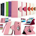 "Rotating PU Leather Case Cover Stand For Samsung Galaxy Tab 3 7.0"" 7"" P3200 +Pen"