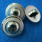 10 Sewing Buttons Craft Round Shiny Shank DIY Vintags Like Lots Accessory Coat D