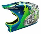 NEW TROY LEE DESIGNS TLD D2 INVADE COMP DOWNHILL MTB HELMET GREEN ALL SIZES