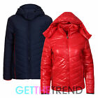 Womens Padded Jacket Ladies Winter Thick Ski Outdoor Zipped Bubble Jacket