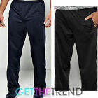 Mens Tricot Casual Pants Men's Plain Black Navy Bottoms Jog Pants Trousers S-XXL