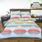 Scout Reversible Quilt Cover Set by Apartmento - SINGLE DOUBLE QUEEN KING