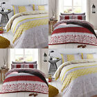 Catherine Lansfield Home Oriental Birds Reversible Duvet Cover Set