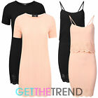 Womens Ladies Crinkle Laser Cut Mini Dress Womens Strappy Short Club Dress 8-14