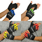GEL SPORT BIKE BICYCLE CYCLING MOTORCYCLE HALF FINGER FINGERLESS ANTISKID GLOVES