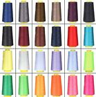 3600 Yards Each Spool Quality Overlocking Sewing Machine Polyester Thread Cones