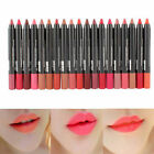 19 colors New Waterproof Soft Kiss Proof lipstick Long Lasting Makeup lip gloss