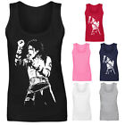Womens Michael Jackson King Of Pop Icon Vest Tank Top NEW UK 8-16