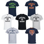 NFL Graphic Tee Fan T-Shirt Fanshirt Herren Fan Tee Shirt Football XS - 2XL neu