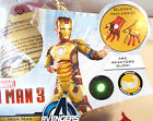 Iron Man 3 Marvel Avengers  Muscle Child Costume with Hard Mask 4-6 7-8 NWT
