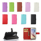 9 Colours Flip Litchi Leather Cover Stand Case For Sony Xperia Phones 38 A