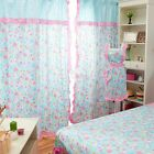 Floral Polka Dots 100% Cotton Decor Cushion Covers Neck Roll Curtain New Linen