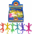 STRETCHY LIZARDS PARTY BAG FILLERZ LOOT BAG PiNATA BOYS GIRLS COLORFUL FUN TOY