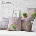 "Fresh Pastoral Style Flowers Pillow Case Cushion Cover Square 17"" Home Decor"